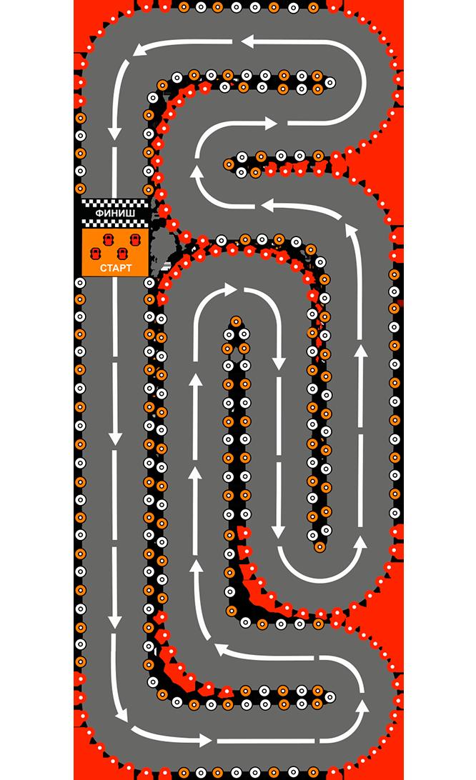 Конфигурация трассы